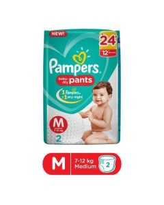 Pampers Pants Ab Pants  Md 2S 50 Gm