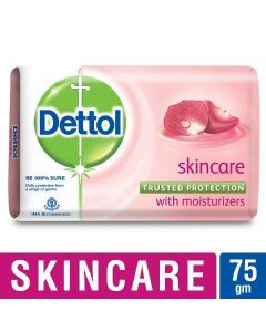 Dettol Soap Bathing Bar Soap- Skincare 75 Gm