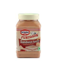 Dr. Oetker Funfoods  Sandwich Spread Eggless Cheesy And Chilli  275 Gm
