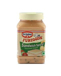 Dr. Oetker Funfoods Sandwich Spread Thousand Island Eggless Emulsified Dips  300 Gm