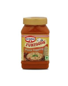 Dr. Oetker Funfoods Pizza Topping  Culinary Sauce 325 Gm