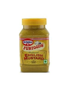Dr. Oetker Funfoods English Mustard Culinary Sauce  300 Gm