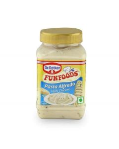 Dr. Oetker Funfoods Pasta Alfredo With Cheese  Emulsified Dips 275 Gm