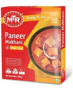 Mtr Ready To Eat Paneer Makhani Meal Time 300 Gm