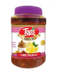 Tops Lime Pickle (Gold)  950 Gm